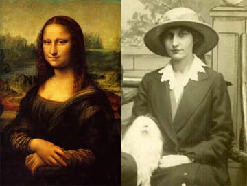 Mona Lisa; Elizabeth Robertson Coombs