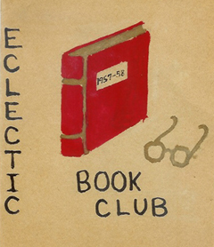 Eclectic Book Club yearbook, 1957-58