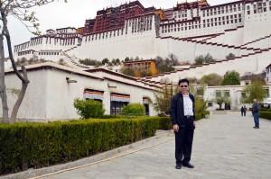 Haiwang Yuan in Tibet