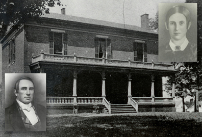 Joseph and Elizabeth Underwood and their home, Ironwood