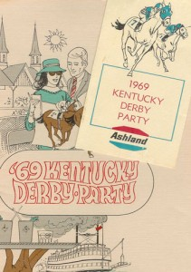 Ashland Oil's Derby Party programs