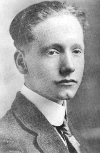 A young Robert Penn Warren.  Courtesy of Dept. of Library Special Collections, WKU.