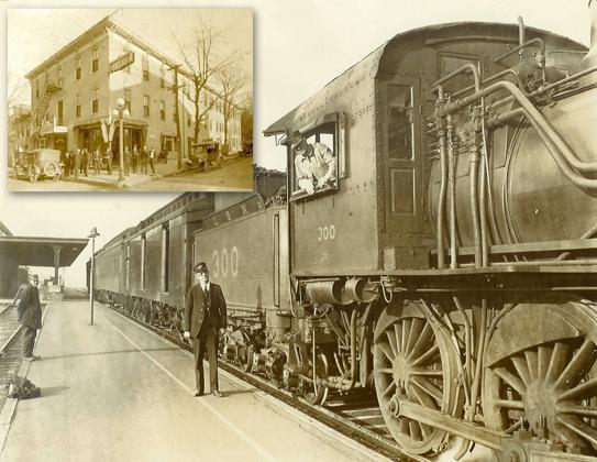 Bowling Green depot, 1936; Morehead Hotel, 1921