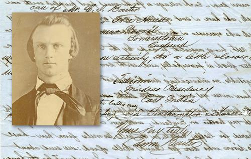 Benjamin Covington Grider; Edwin Barter's letter