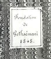 Fondation de Gethsemani cover