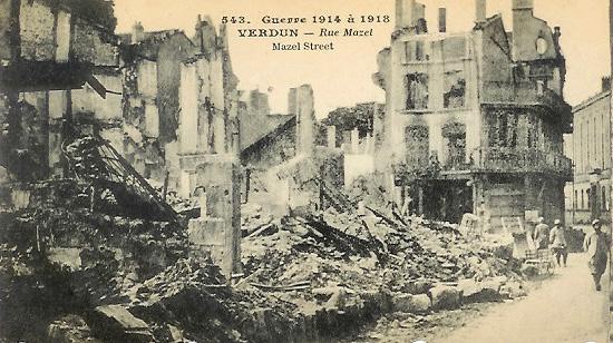 Verdun, 1918