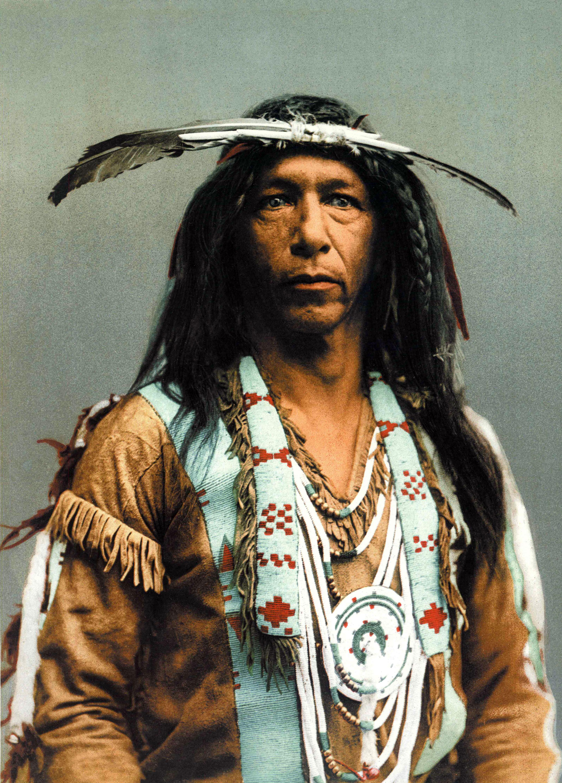 Arrowmaker, Ojibwa Brave, photochrom