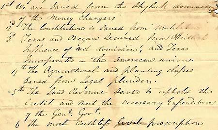 Elijah Hise's celebratory letter