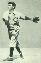 Chicago Cubs player, 1908