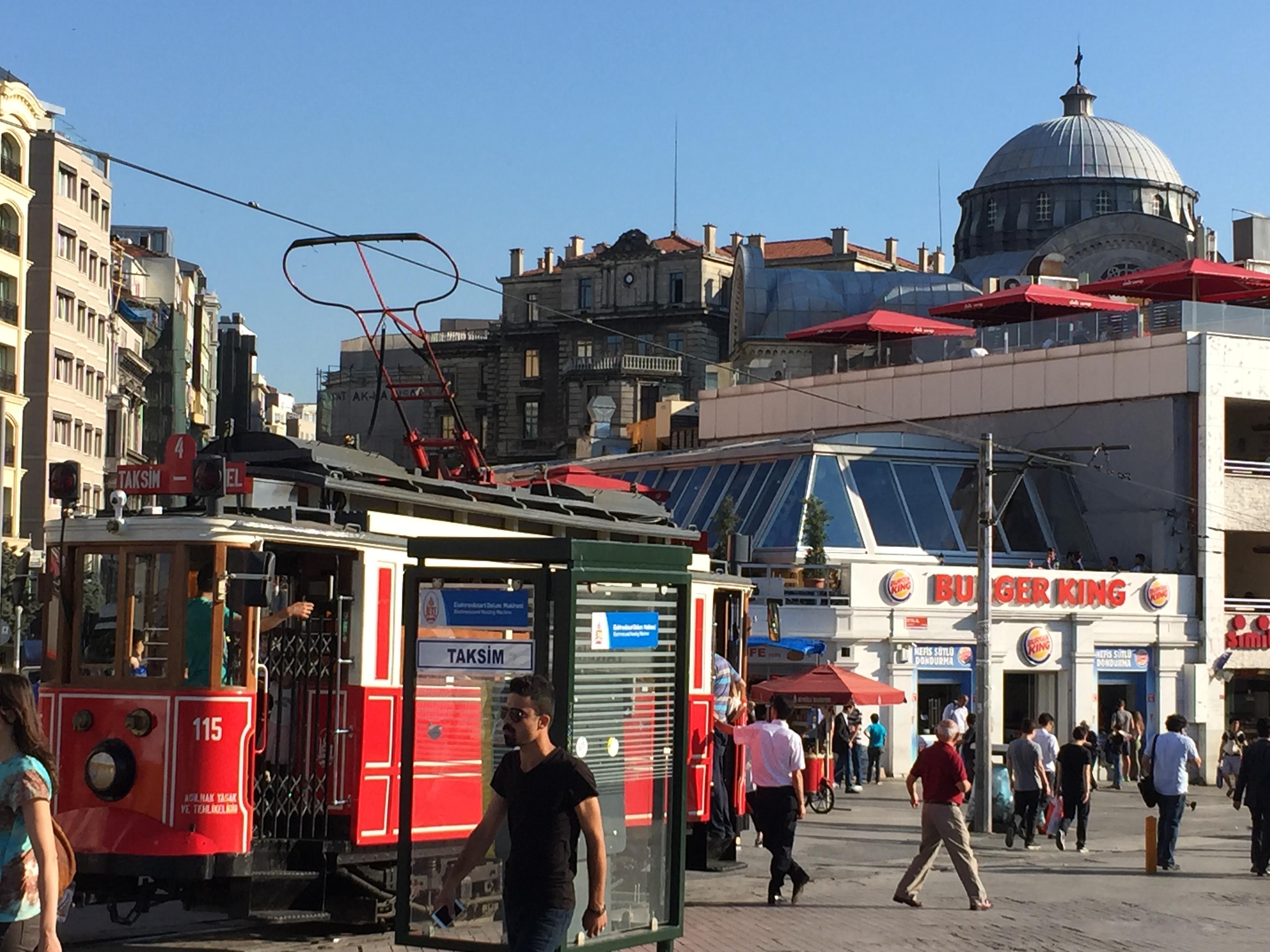 Istanbul public transportation