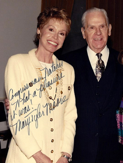 Mary Tyler Moore and William H. Nat