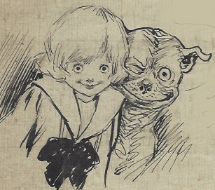 Buster Brown and Tige