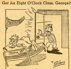 Whitey Sanders, College Heights Herald, Nov. 19, 1954