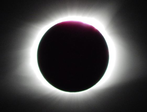 From William Sledge - totality