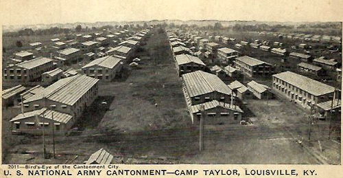 Barracks at Camp Zachary Taylor, Louisville, Kentucky