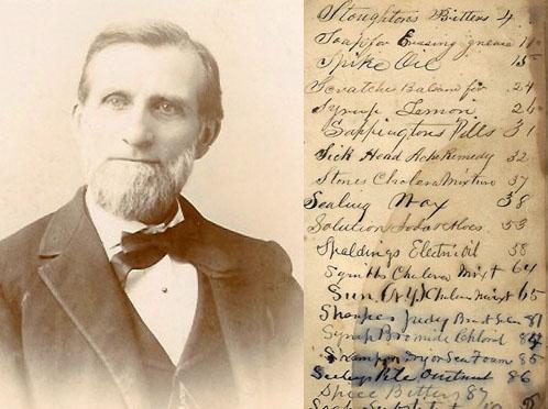 John E. Younglove; a page from his prescription book