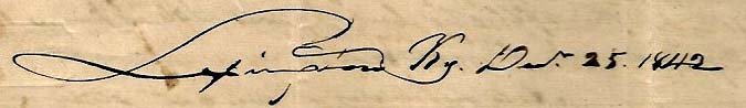 Josiah Dunham's letter
