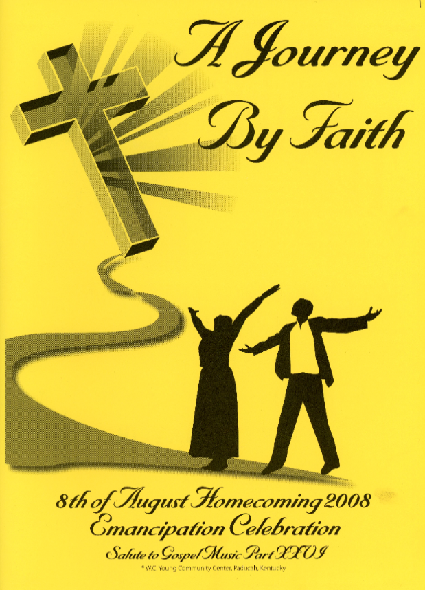 Program booklet for the 2008 8th of August Emancipation celebration